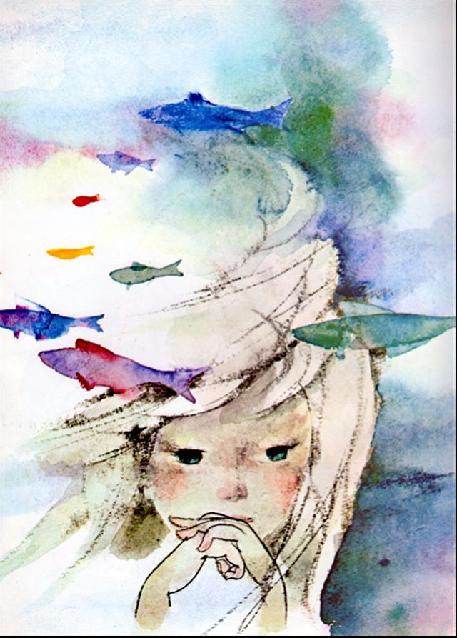 The Little Mermaid Illustrated By Chihiro Iwasaki Mermaid Art
