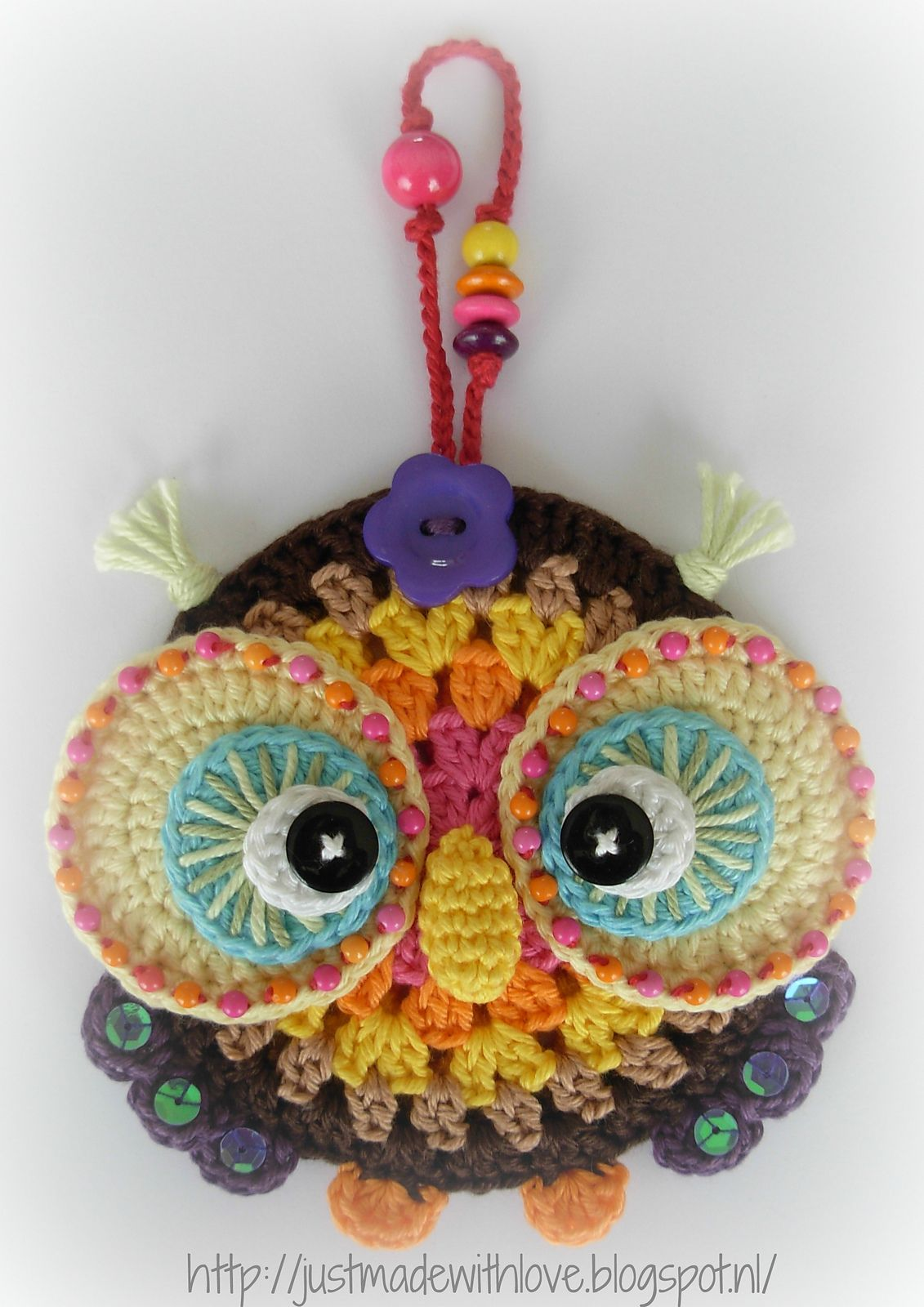 Ravelry: Antoinette06\'s Autumn Owl Ornament | Crochet | Pinterest ...