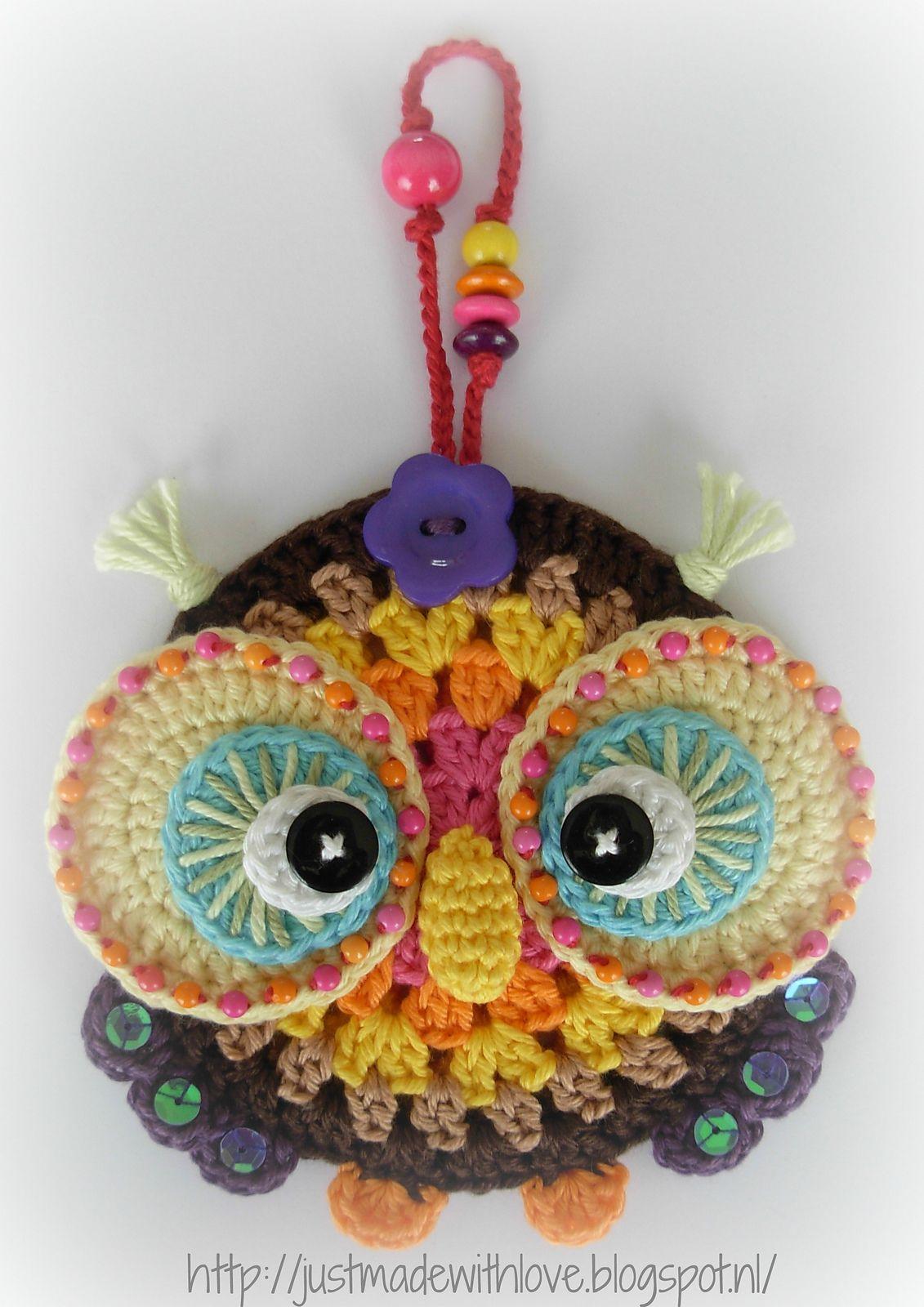 Ravelry: Antoinette06\'s Autumn Owl Ornament | Crochet | Pinterest ...