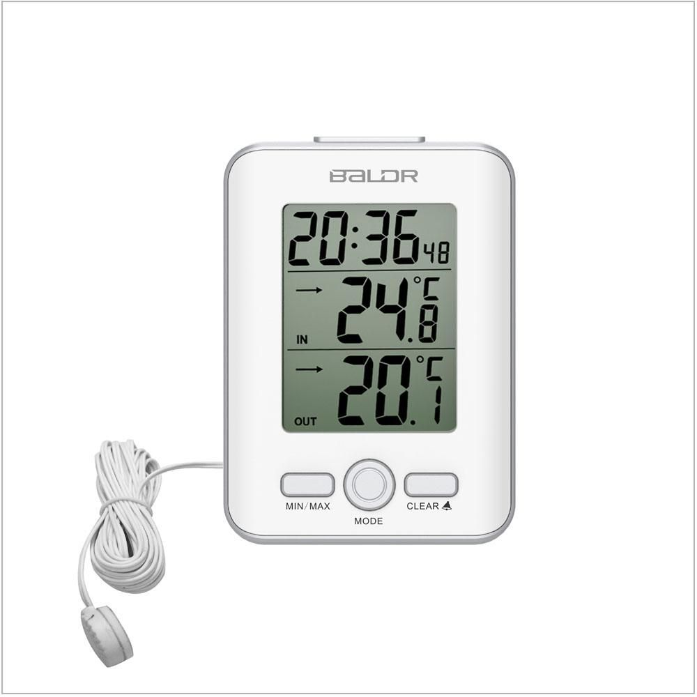 Wired Indoor Outdoor Thermometer Humidity Wire Center Plc Schematics Moreover Ladder Logic Symbols Furthermore Concorso Buy The Best Sensor From Baldr Now Rh Pinterest Com Galileo Thermometers Walmart