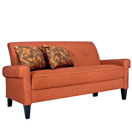 Angelo:HOME Ennis California Vintage Orange Sofa   Furniture Store, St.  Louis, Missouri. Phillips Furniture   Life. Meet Style.