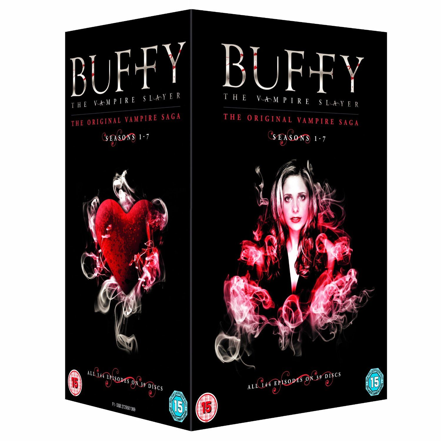 Buffy the vampire slayer complete seasons 1 7 dvd amazon co