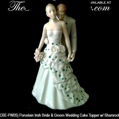 Irish Wedding Cake Topper