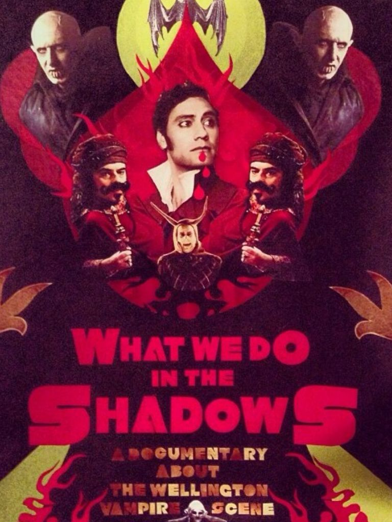 What We Do In The Shadows Comedy Films Movie Poster Art Halloween Stories