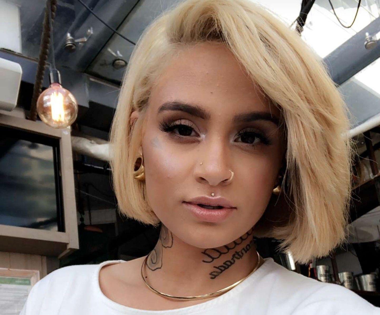 Kehlani selfies - April 2018