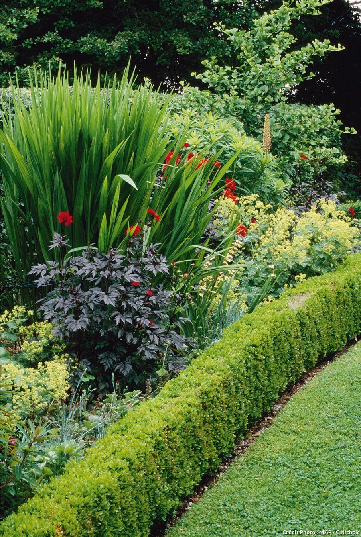 8 bordures pratiques et charmantes terrasse et jardins. Black Bedroom Furniture Sets. Home Design Ideas