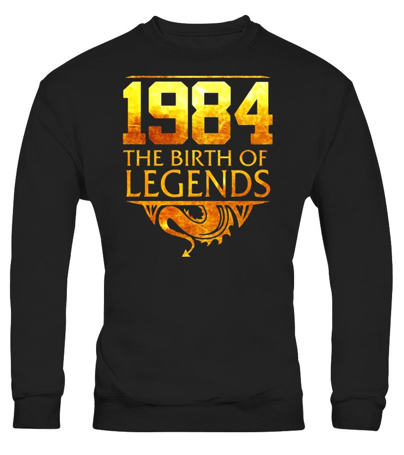 Legends Born In 1984 Birthday Gift For 33 Years Old  Funny halloween designs T-shirt, Best halloween designs T-shirt