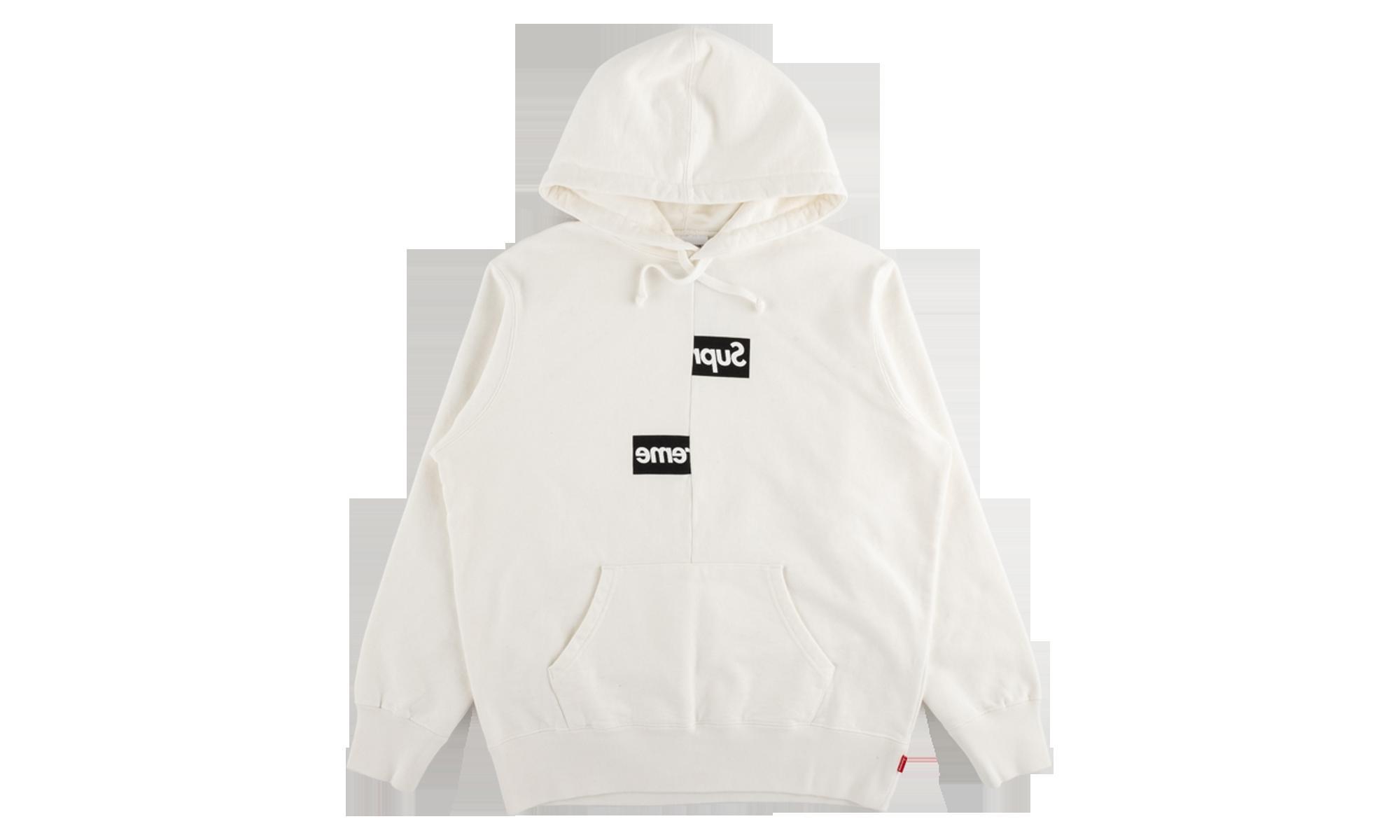 Supreme Cdg Split Box Logo Hoodie Fw 18 Su5669 Box Logo Hoodie Hooded Sweatshirts Hoodies [ 1200 x 2000 Pixel ]
