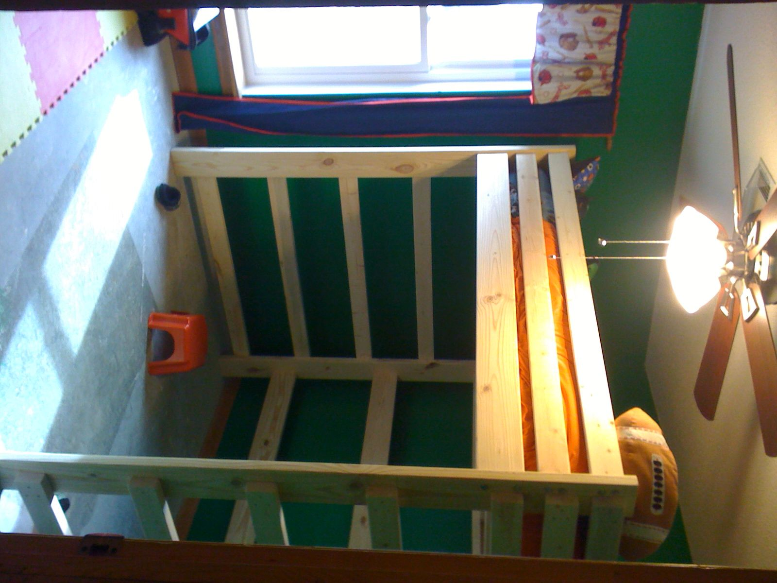 Loft bed plans full size  FULL SIZE LOFT BEDPLANS AVAILABLE FOR  AT  BUNKBEDSUNLIMITED