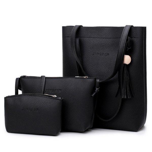 94d6570b02 RoseWholesale -  Rosewholesale 3 Pcs Handbag Set - AdoreWe.com ...