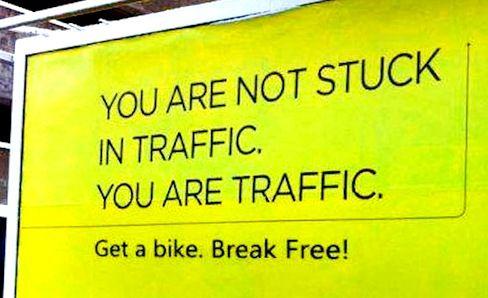 Rethink traffic.