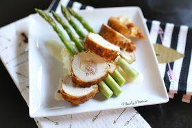 Miss Liz Heart: Romantic Dinner At Home - Chicken Cordon Bleu