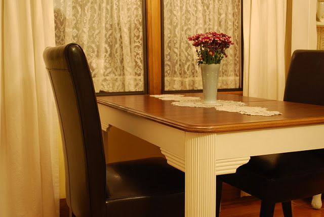 Oakview Cottage: Table Makeover