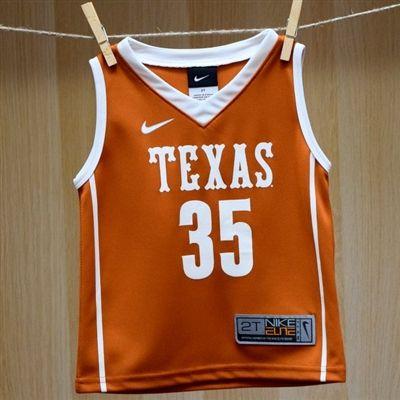 meet 11a1c 61e75 Texas Toddler Kevin Durant Basketball Jersey #35 - Nike ...