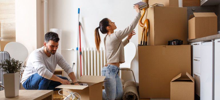 First Things To Do When Moving Into A New Home Checklist New