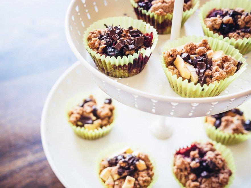 Muffins, Rezept, vegan, Apfel, Beeren, Schokolade Backen statt - chefkoch käsekuchen muffins