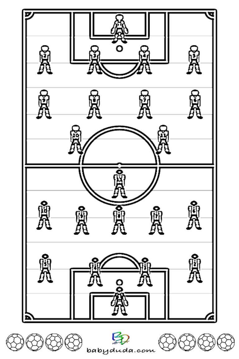 Fussball Ausmalbilder Spielfeld Ball Fussballfieber Babyduda Malbuch Ausmalen Ausmalbilder Bilder