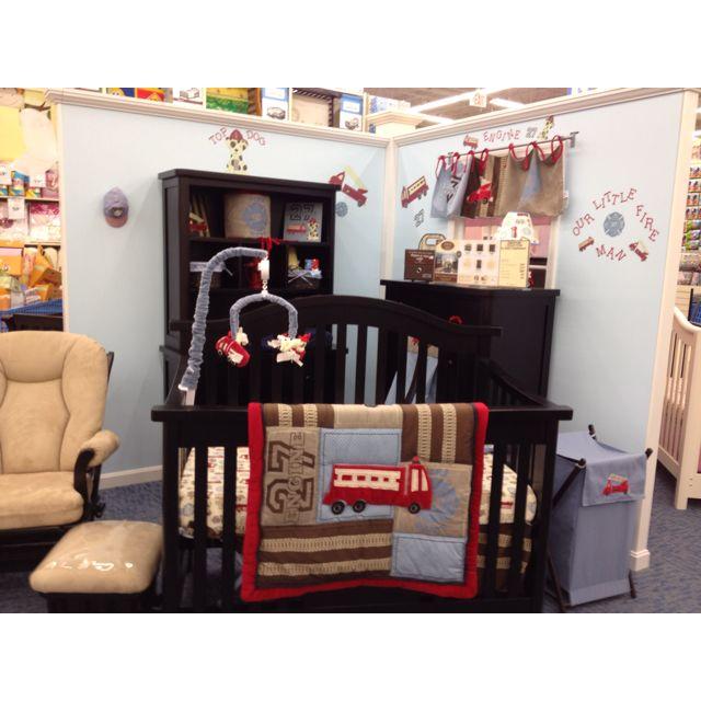 Everything Designish Baby Boy S Nursery: Firefighter Nursery :)