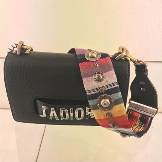 e4bff89d0d1a Dior Black Canyon Grained Lambskin J adior Flap Bag
