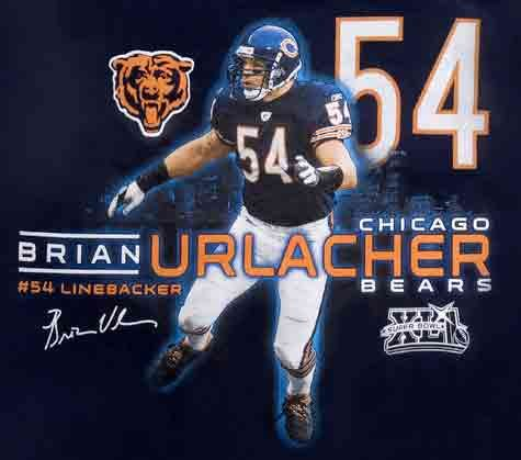Check out a tee by us for the Chicago Bear's Brian Urlacher! http://cesprint.com/