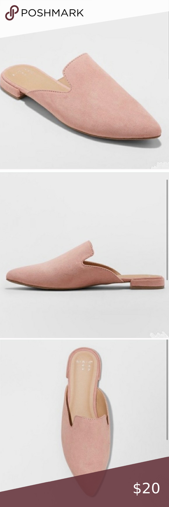 Day Womens Velma Mules Shoes Flats Slip