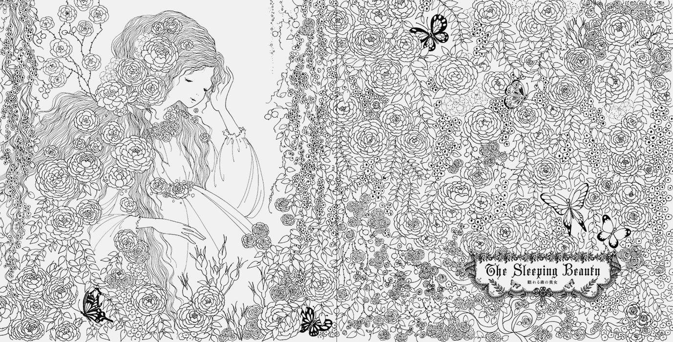 Fairy Tale Colouring Book | cute coloring book