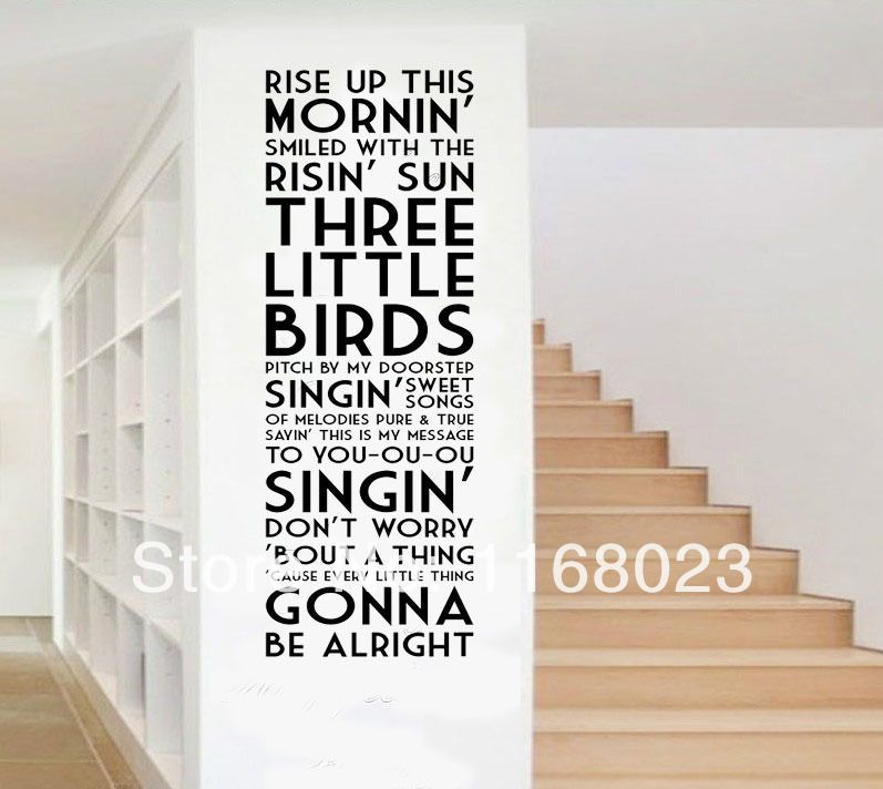 Bob Marley Wall Quotes Decals