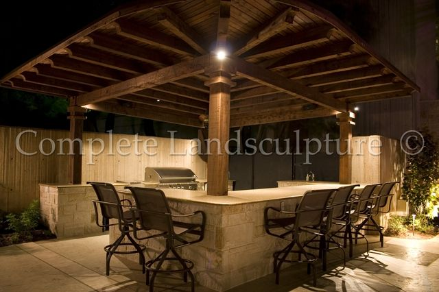 Some External Lighting Can Create A Beautiful Outdoor Living Scene