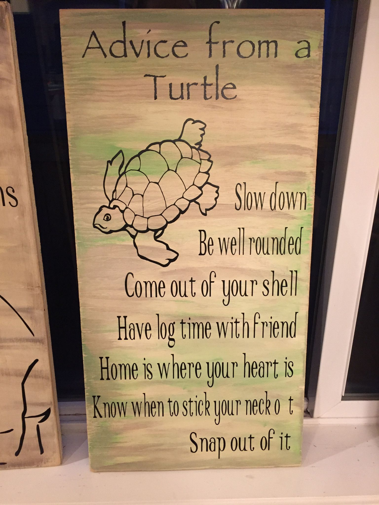PERSONALISED HANDMADE WOODEN TORTOISE SHAPED PLAQUE SIGN FOR TORTOISE HOME GIFT