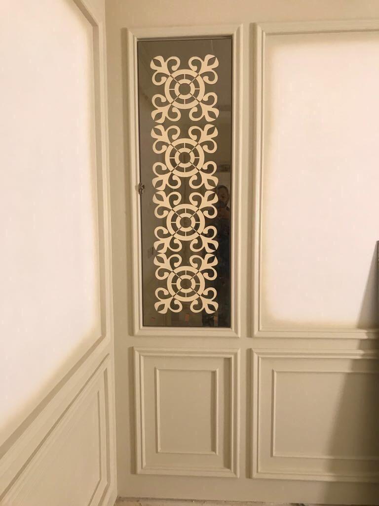 Pin By Gasc Aluminum المنيوم جاسك On ابواب مداخل المنيوم جاسك 0536852254 Roman Shade Curtain Decor Home Decor