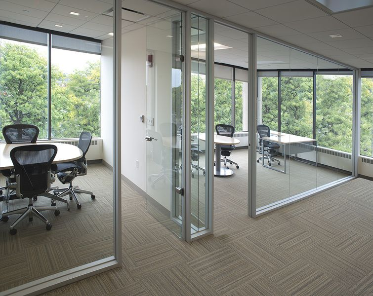 Interior Aluminum Framing Office Partitions Special Lite