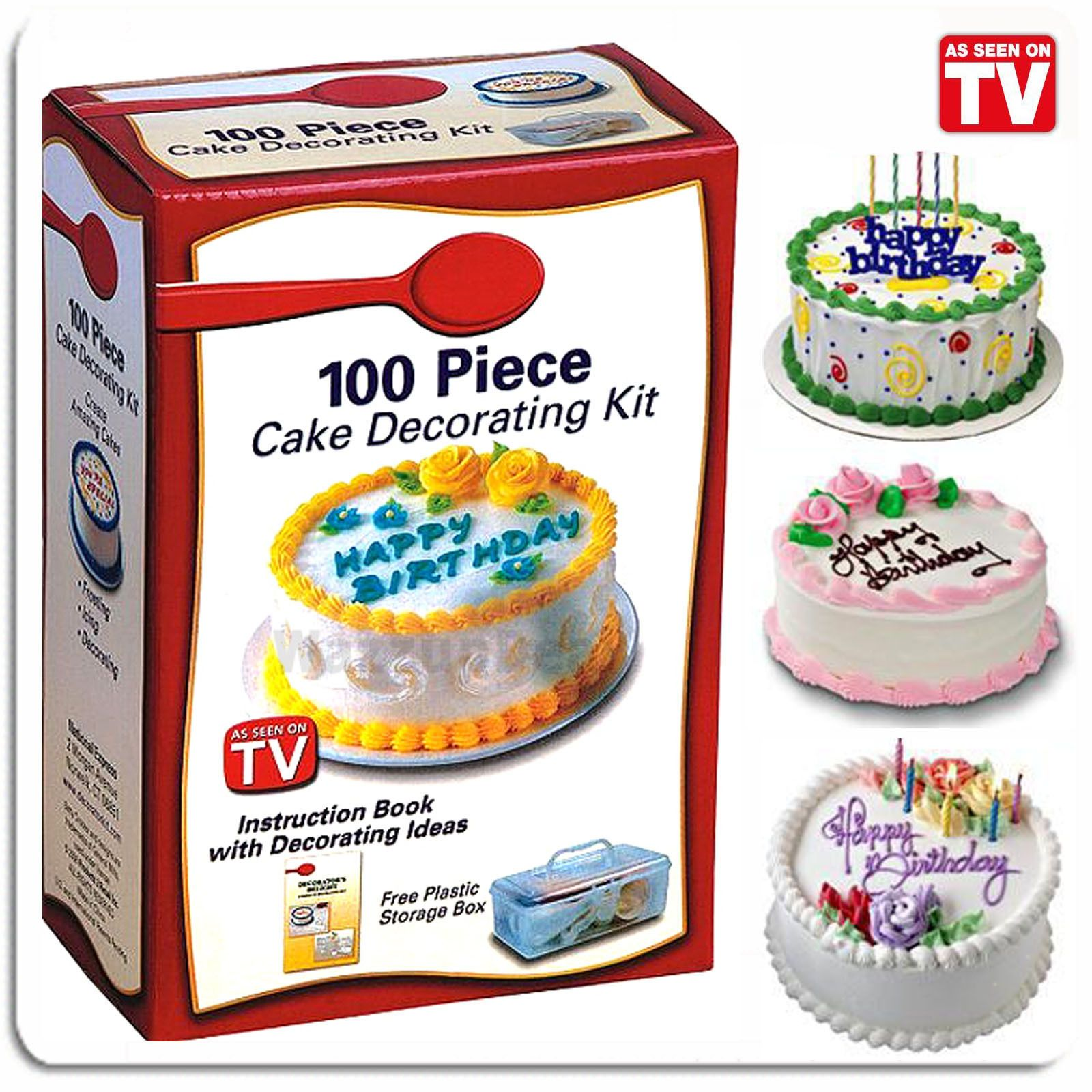 Betty Crocker 100 Piece Cake Decorating Kit Set Diy Nib In A Box