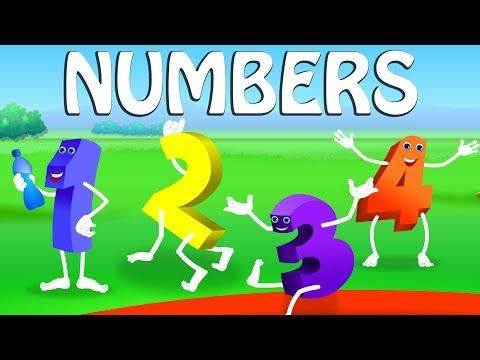 ▷ The Numbers Song - Learn To Count from 1 to 10 - Number Rhymes