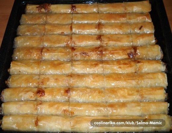 PITA SA JABUKAMA u2014 Coolinarika Baklava Pinterest Kuchen - serbische küche rezepte