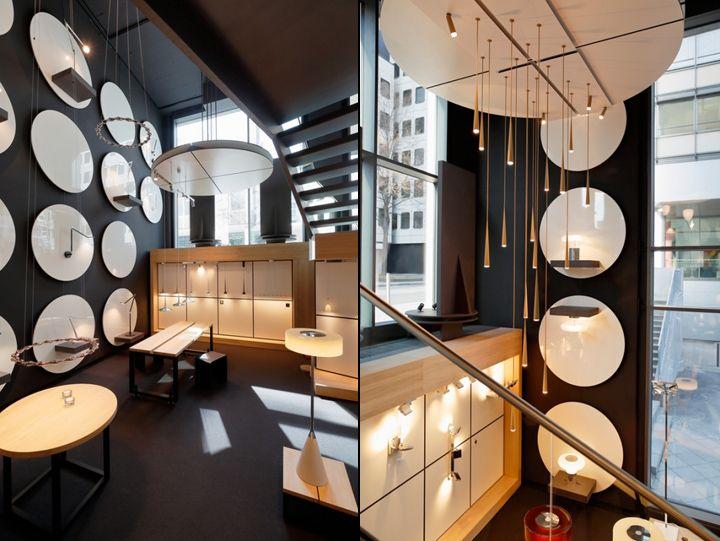 Luminaire Tobias Grau Flagship At Turmcarée Ping Centre Frankfurt Germany Retail Design Blog