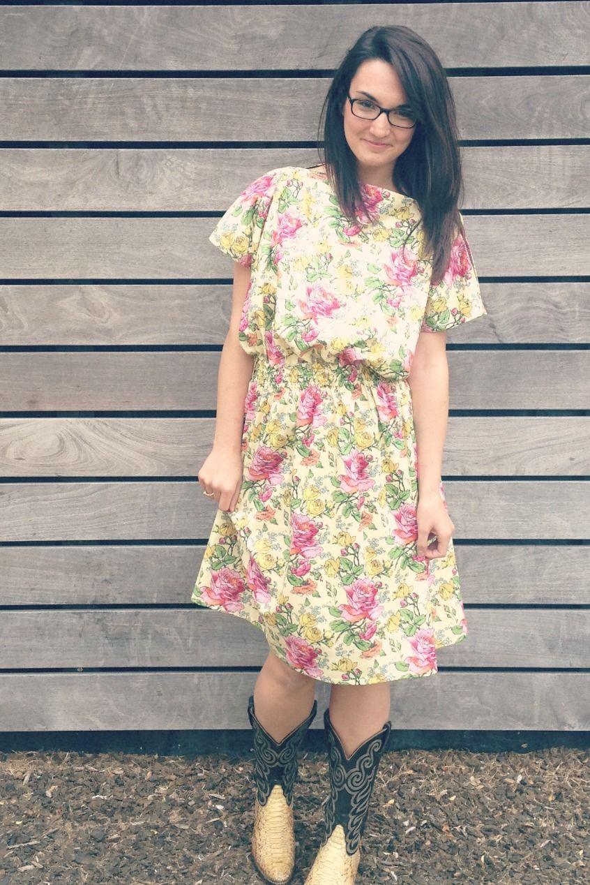 amy butler fabric. dress from I am Cute Dresses (book) | Sewing for ...