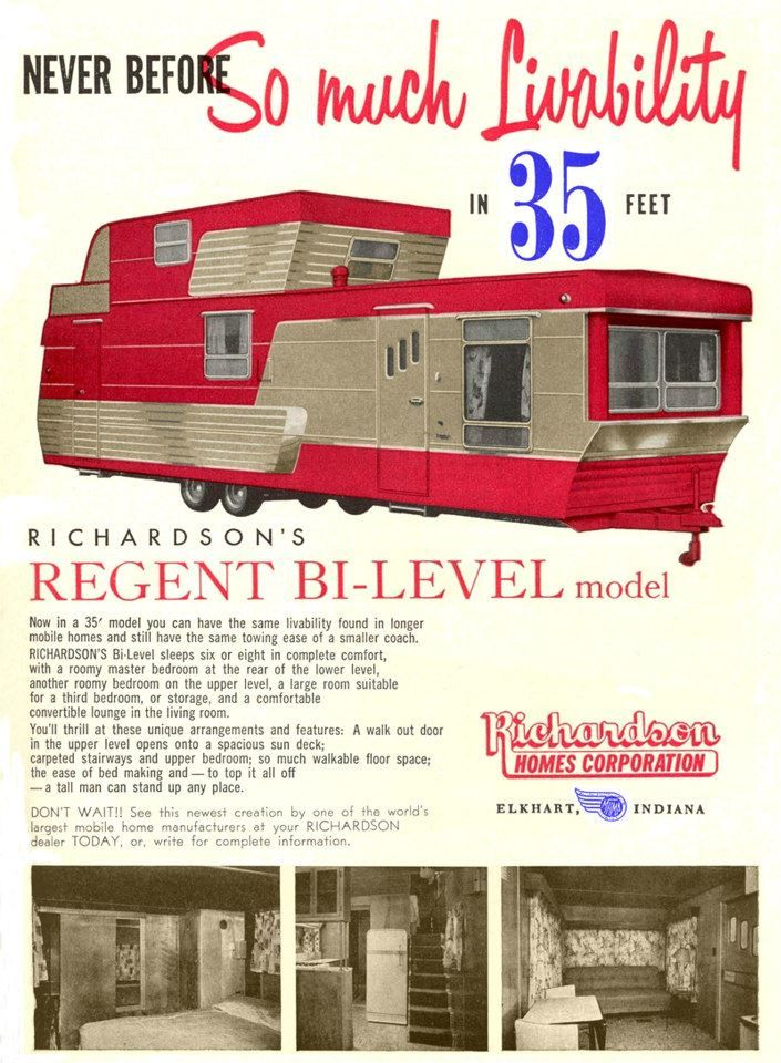 Two Story Mobile Homes Mobile And Manufactured Home Living Two Story Mobile Homes Vintage Travel Trailers Vintage Camper