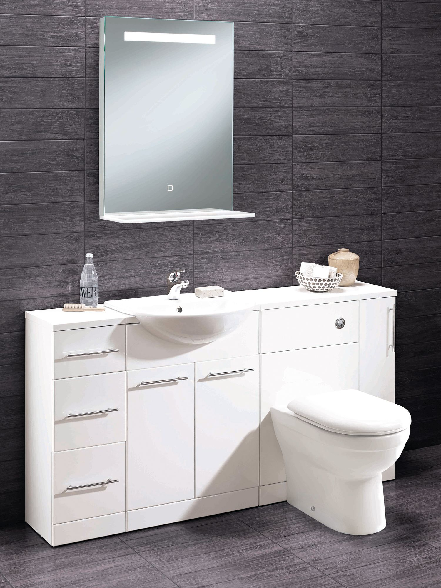 Our Skara Back To Wall Bathroom Furniture From Highlife Bathrooms Is Now On Display In Our Bootle Sho Bathroom Furniture Beautiful Bathrooms Bathroom