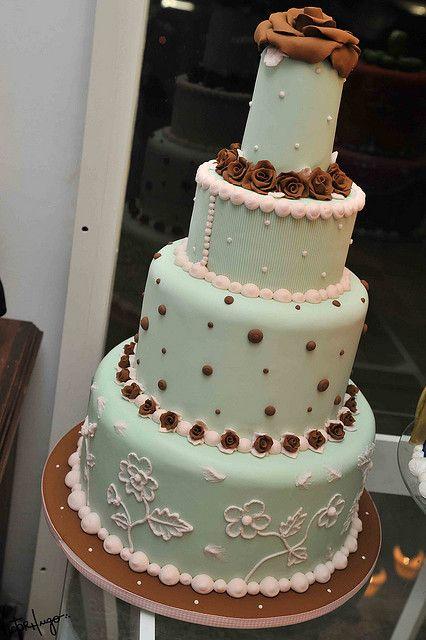 Bolo Casamento (www.djalmareinaldo.com.br) by Victor Hugo by Djalmma Reinalldo (Cake Designer), via Flickr