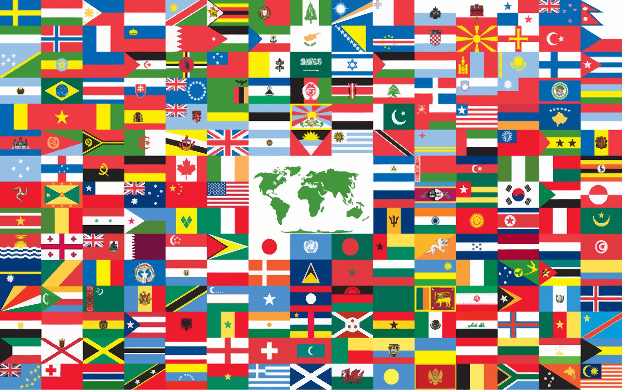 The world flag, 2006