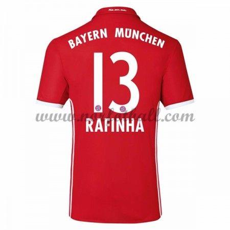 Billige Fotballdrakter Bayern Munich 2016-17 Rafinha 13 Hjemme Draktsett Kortermet