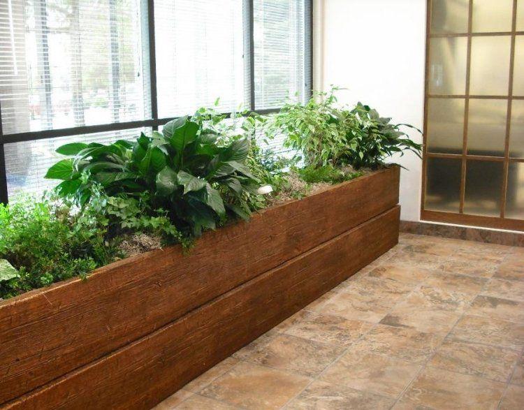 Carr potager sur lev et bac fleurs sur pied fiche - Bac de jardin en bois ...