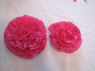 Crepe paper flowers tutorial flowers pinterest crepe paper crepe paper flowers tutorial streamer mightylinksfo