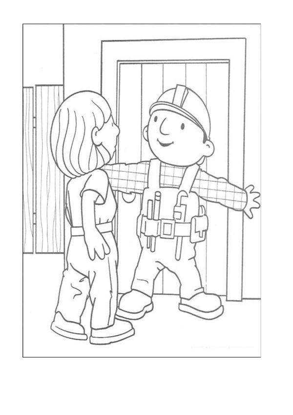 Dibujos para Colorear Bob el constructor 3   Dibujos para colorear ...