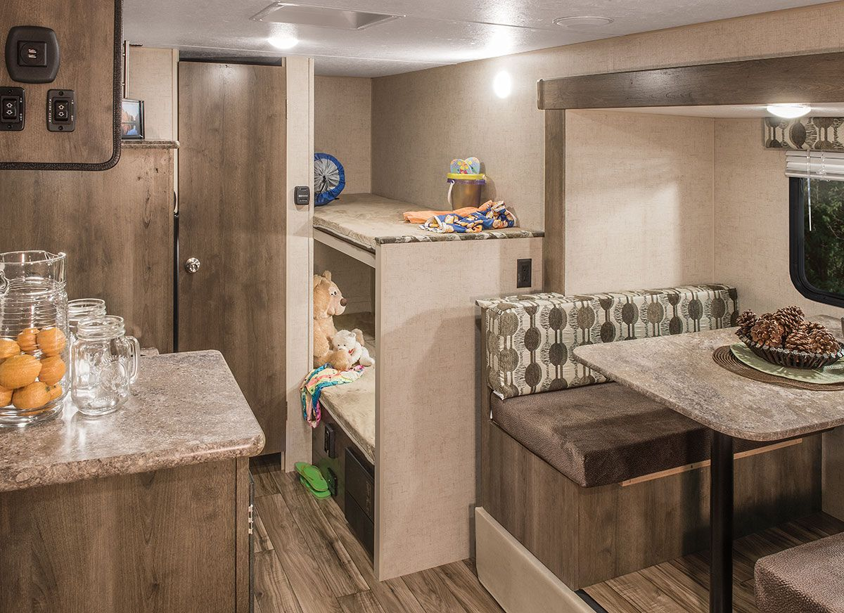 2017 K Z Rv Sportsmen Classic 181bh Travel Trailer Bunks Bunkhouse Option With A Slide That Fits In Our Weight Bunk House Travel Trailer Light Travel Trailers