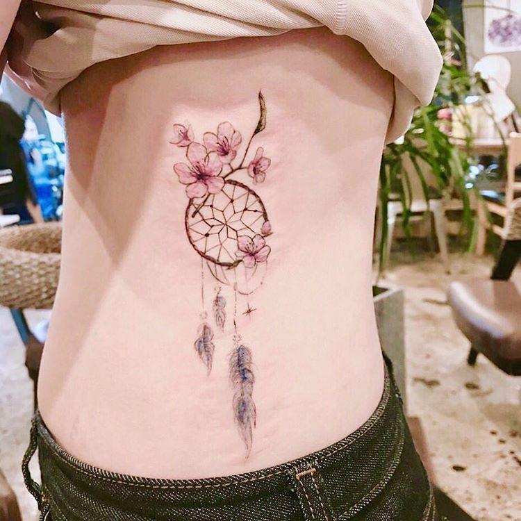 35 Imaginative Dream Catcher Tattoo Designs - Page 30 of 35 -   18 gemini tattoo design ideas