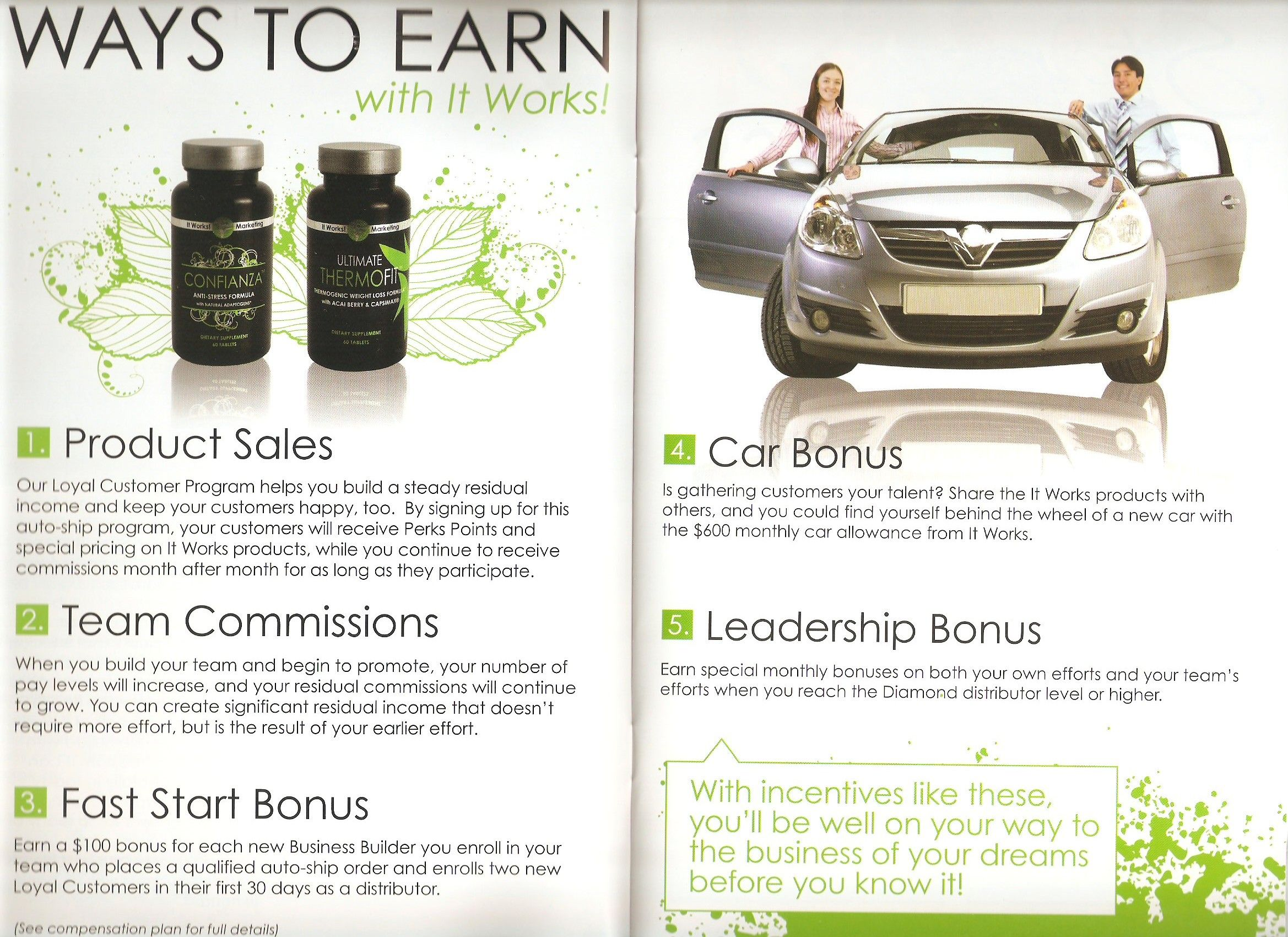 5 ways to earn with It Works Home Based Business Opportunity Get ...