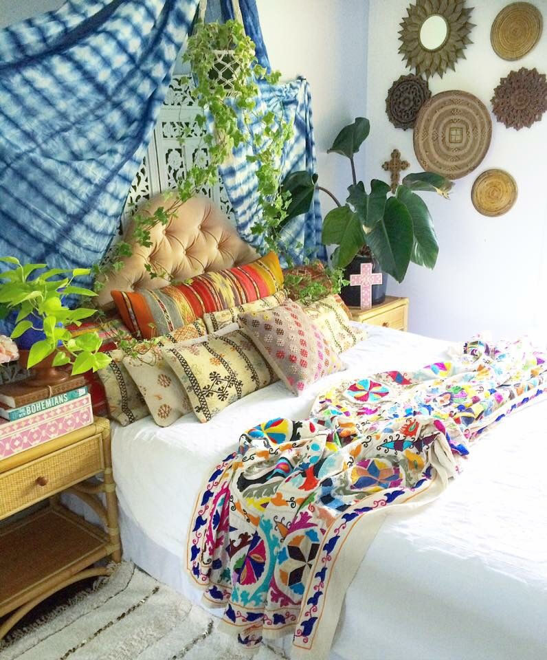 Whimsical Bedroom Decorating Ideas: I've Built My Own Whimsical, Bohemian Cubby Nook & I'm