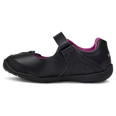 Surprize by Stride Rite Katelyn Mary Jane Toddler Girls Black Shoes