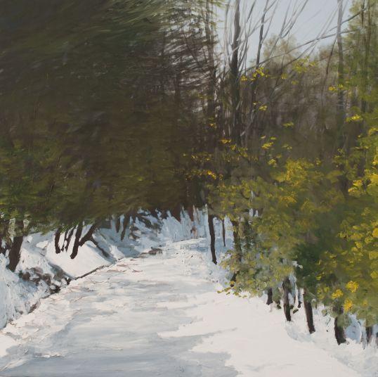 Hilary DYMOND, Winter paths référence 3034